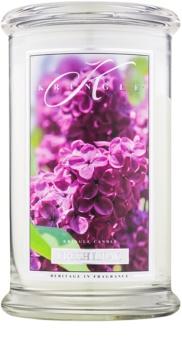 Kringle Candle Fresh Lilac dišeča sveča  624 g