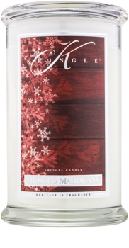 Kringle Candle Frosted Mahogany scented candle