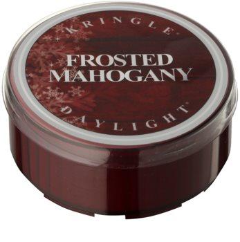 Kringle Candle Frosted Mahogany čajová svíčka 35 g