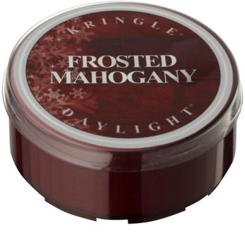 Kringle Candle Frosted Mahogany čajová sviečka 35 g