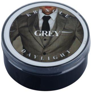 Kringle Candle Grey čajová sviečka 42 g