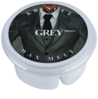 Kringle Candle Grey Wachs für Aromalampen 35 g