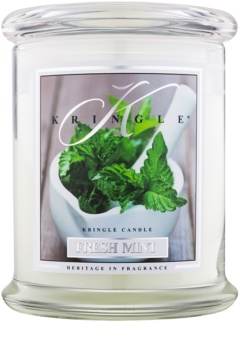 Kringle Candle Fresh Mint dišeča sveča  411 g