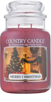 Kringle Candle Country Candle Merry Christmas Geurkaars 652 gr