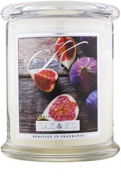 Kringle Candle Oak & Fig vonná svíčka 411 g