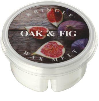 Kringle Candle Oak & Fig illatos viasz aromalámpába 35 g