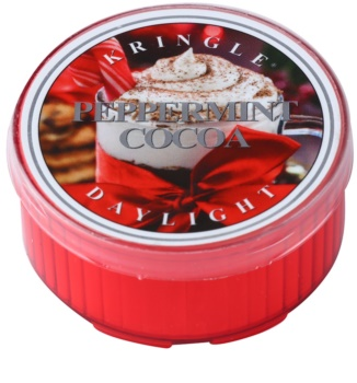 Kringle Candle Peppermint Cocoa čajová svíčka 35 g