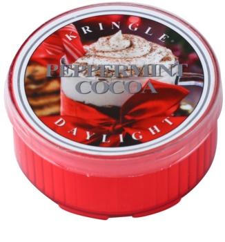 Kringle Candle Peppermint Cocoa čajová svíčka 35 g