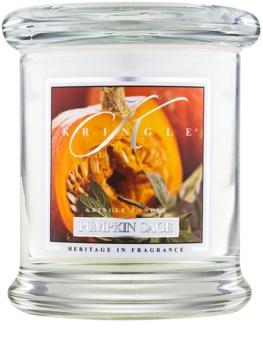 Kringle Candle Pumpkin Sage illatos gyertya  127 g