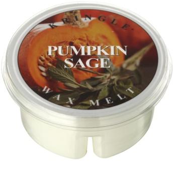 Kringle Candle Pumpkin Sage cera para lámparas aromáticas 35 g