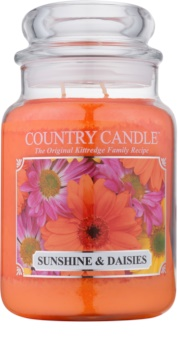 Kringle Candle Country Candle Sunshine & Daisies bougie parfumée 652 g