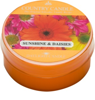Country Candle Sunshine & Daisies lumânare 42 g