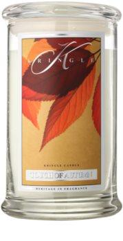 Kringle Candle Touch of Autumn vela perfumado 624 g