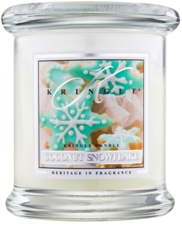 Kringle Candle Coconut Snowflake illatos gyertya  127 g
