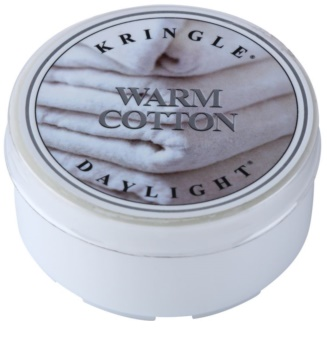 Kringle Candle Warm Cotton vela do chá