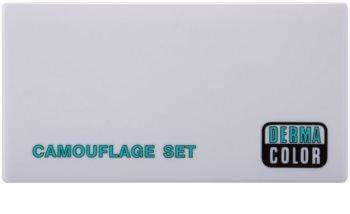 Kryolan Dermacolor Camouflage System 3 árnyalatú korrektor paletta tükörrel és aplikátorral