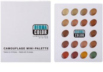 Kryolan Dermacolor Camouflage System Mini korrektor paletta