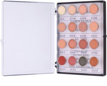 Kryolan Dermacolor Camouflage System mini-paleta de revisores em creme com elevado índice de protecção 16 cores
