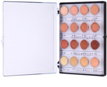 Kryolan Dermacolor Camouflage System mini paleta kremastih korektorjev z visokim prekrivanjem 16 barv