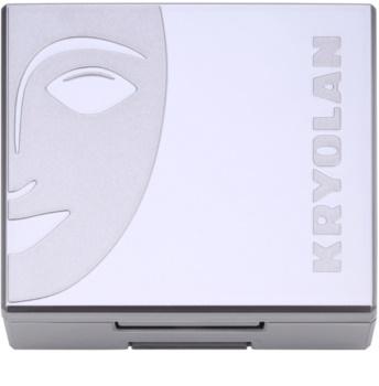 Kryolan Basic Face & Body kompaktní tvářenka se štětcem a zrcátkem