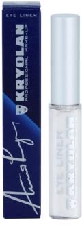 Kryolan Basic Eyes eyeliner liquide avec applicateur