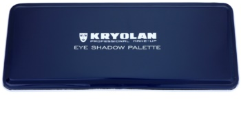 Kryolan Basic Eyes paleta očních stínů 10 barev