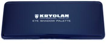 Kryolan Basic Eyes paleta očných tieňov 10 farieb