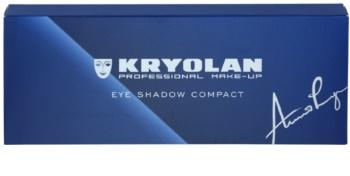 Kryolan Basic Eyes Paleta ochi umbre cu 10 nuante