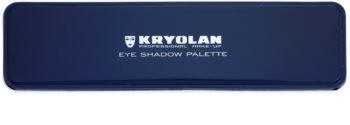 Kryolan Basic Eyes paleta očných tieňov 5 farieb