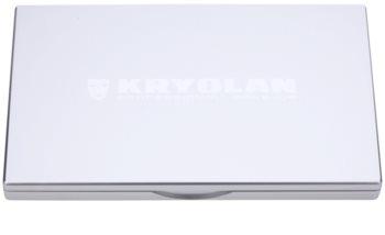 Kryolan Basic Eyes paleta de 8 culori  cu oglindă si aplicator