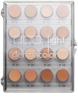 Kryolan Dermacolor Light 16 színből álló korrektor paletta