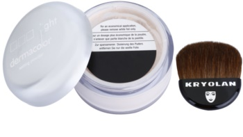 Kryolan Dermacolor Light Matt zmatňujúci sypký púder so štetčekom