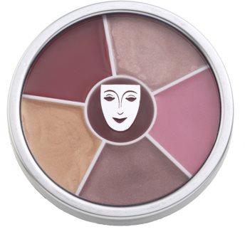 Kryolan Basic Lips paleta cu diferite nuante de luciu de buze