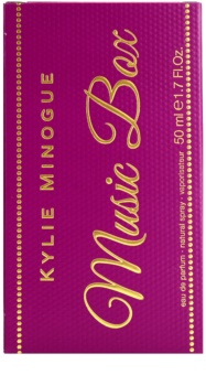 Kylie Minogue Music Box Eau de Parfum für Damen 50 ml