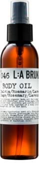 L:A Bruket Body telový olej so šalviou, rozmarínom a levanduľou