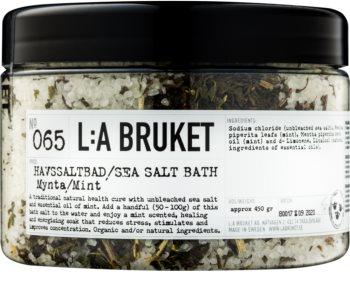 L:A Bruket Spa sare de baie cu menta