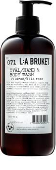 L:A Bruket Body рідке мило з дикою трояндою для тіла та рук