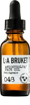 L:A Bruket Face pleťový olej s výtažkem z pomerančů pro normální až suchou pleť