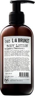 L:A Bruket Body lapte de corp cu bergamot și patchouli