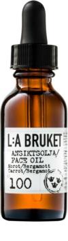 L:A Bruket Face pleťový olej s beragmotom a karotkou