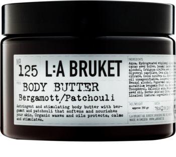 L:A Bruket Body tělové máslo s bergamotem a pačuli