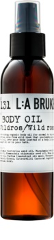 L:A Bruket Body tělový olej s divokou růží