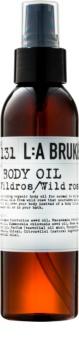 L:A Bruket Body telový olej s divokou ružou