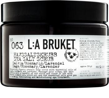 L:A Bruket Body пілінг для тіла з шавлією, розмарином та лавандою