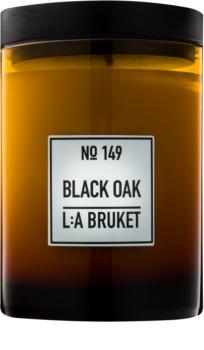L:A Bruket Home Black Oak dišeča sveča  260 g