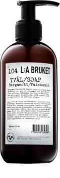 L:A Bruket Body tekuté mýdlo s bergamotem a pačuli na ruce a tělo