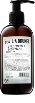L:A Bruket Body Geranium Liquid Soap for Hands and Body