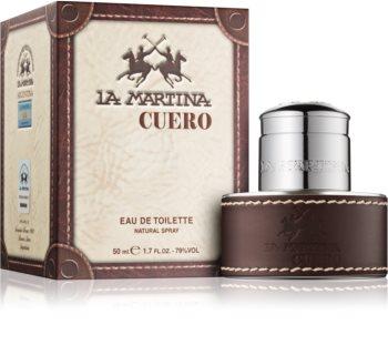 La Martina Cuero Hombre eau de toilette férfiaknak 50 ml