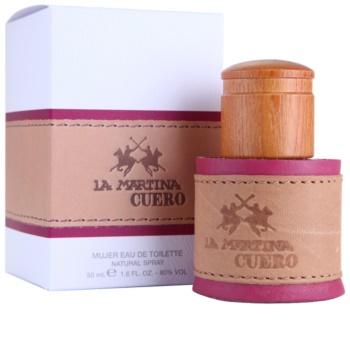 La Martina Cuero Mujer woda toaletowa dla kobiet 50 ml