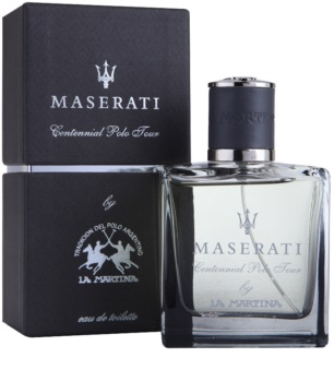 La Martina Maserati Centennial Polo Tour Eau de Toilette for Men 100 ml